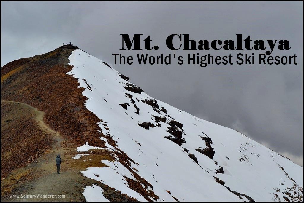 chacaltaya peak