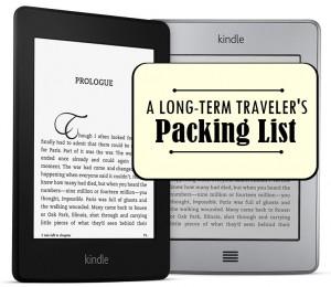 A Long-Term Traveler's Packing List