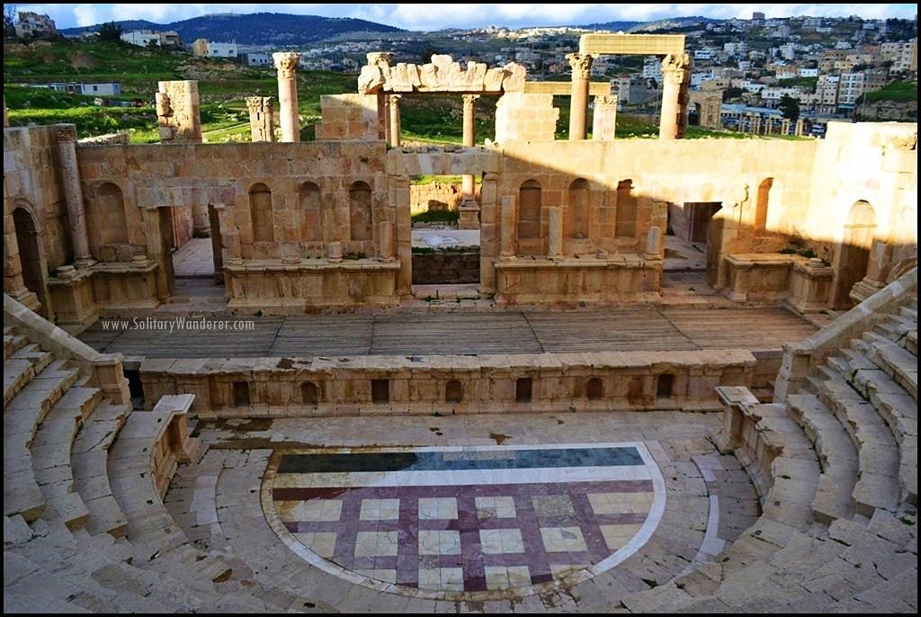 Jerash ruins of Jordan: a once great Roman city