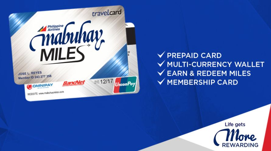 new mabuhay miles travel card
