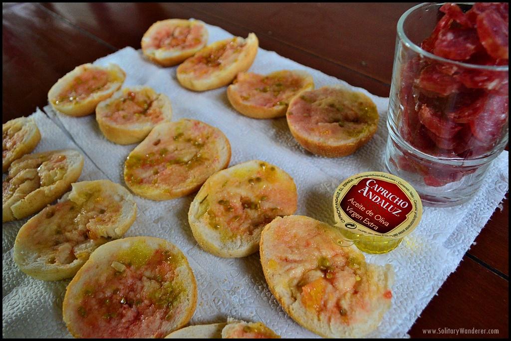 pan y tomate tapas