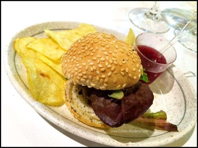 tapas churro burger