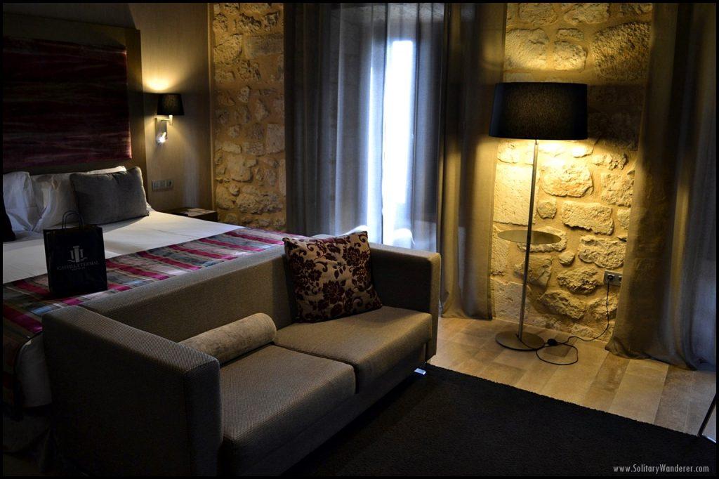 Castilla Termal Monasterio de Valbuena room