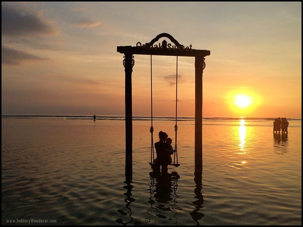 sunset gili trawangan