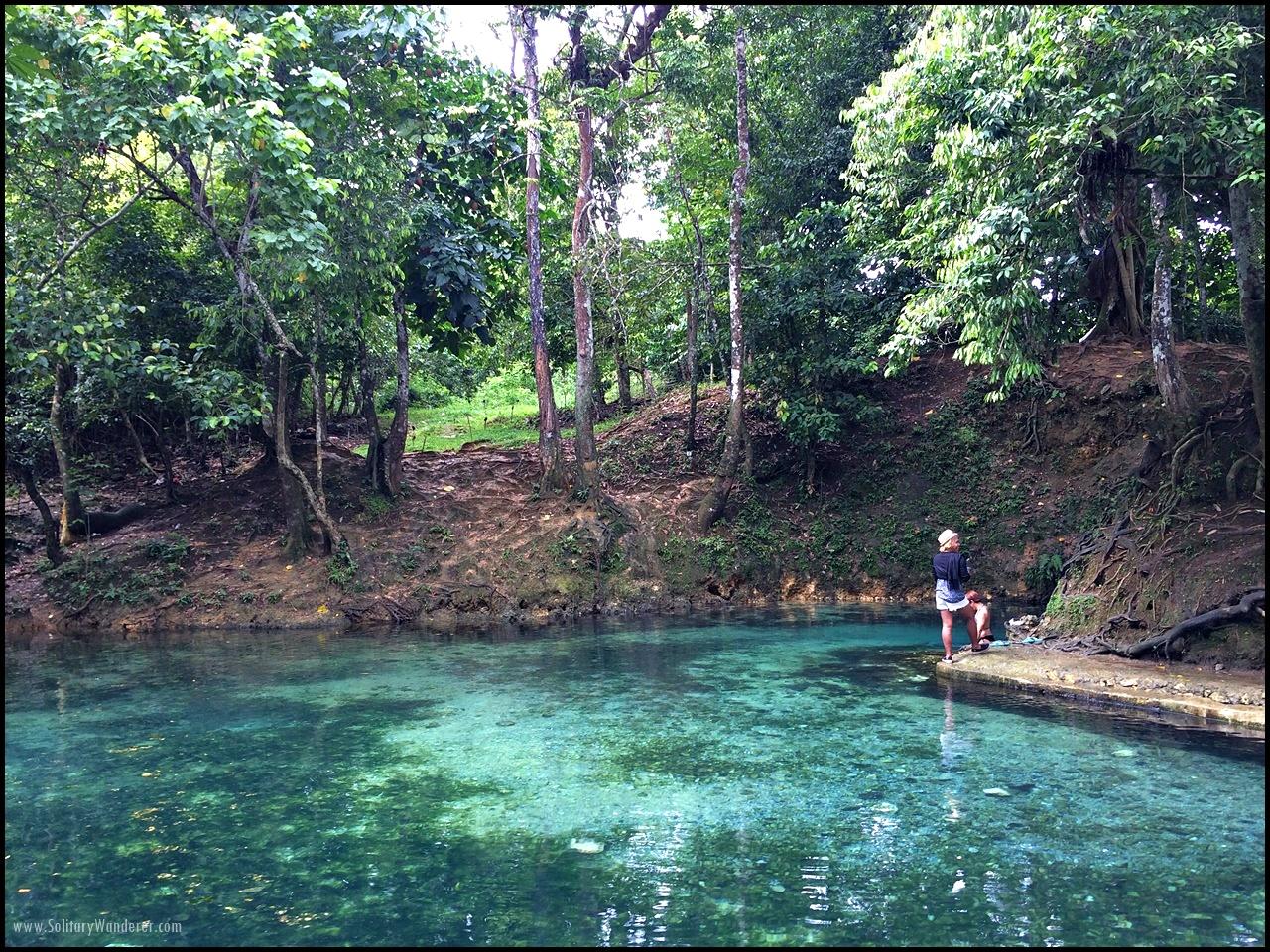 Libuacan Cold Spring, Tagbina, Surigao del Sur