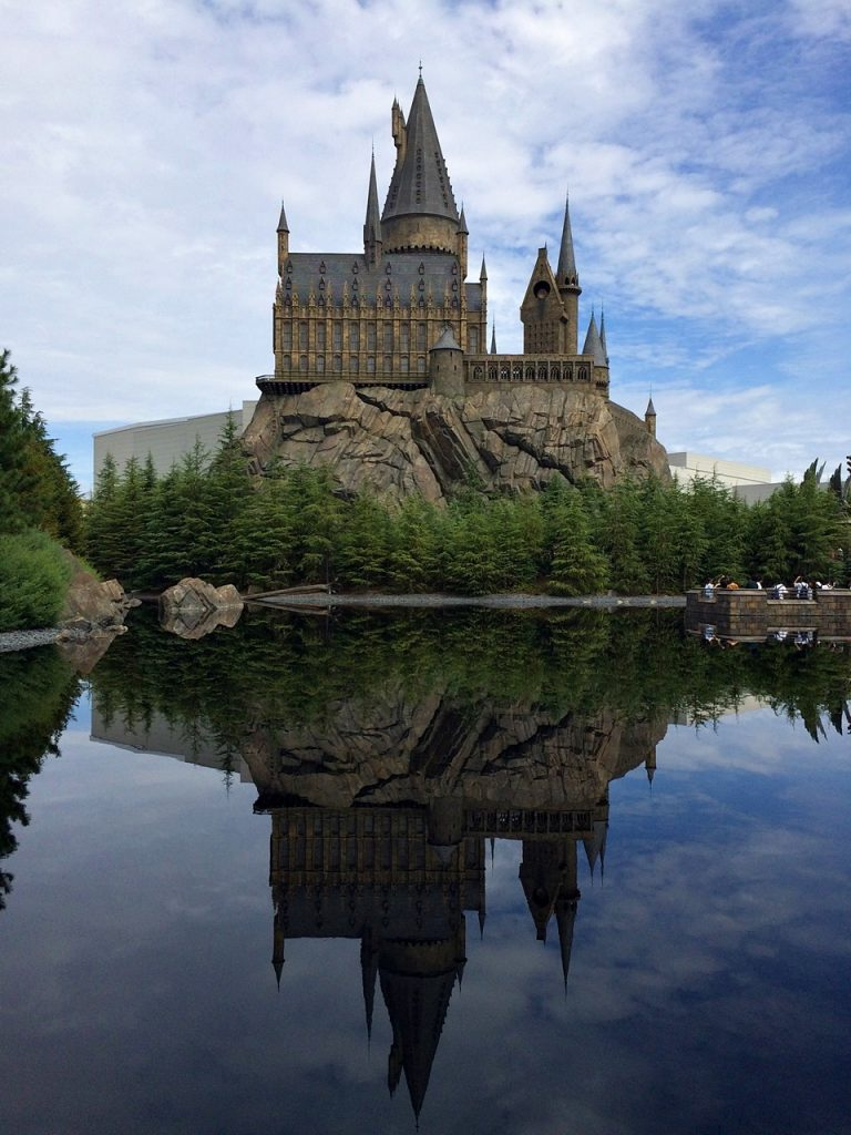 hogwarts castle universal studios japan