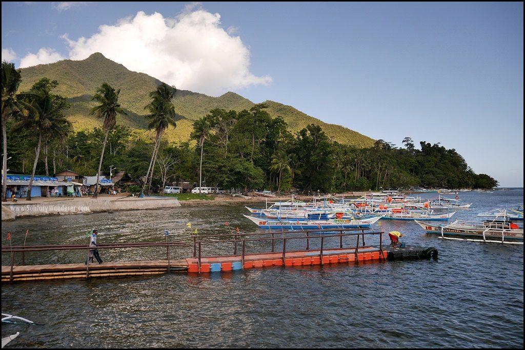 sabang-port-palawan