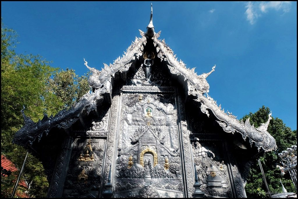 The silver temple of Chiang Mai