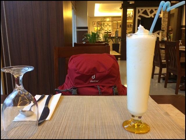ALU Hotel restaurant