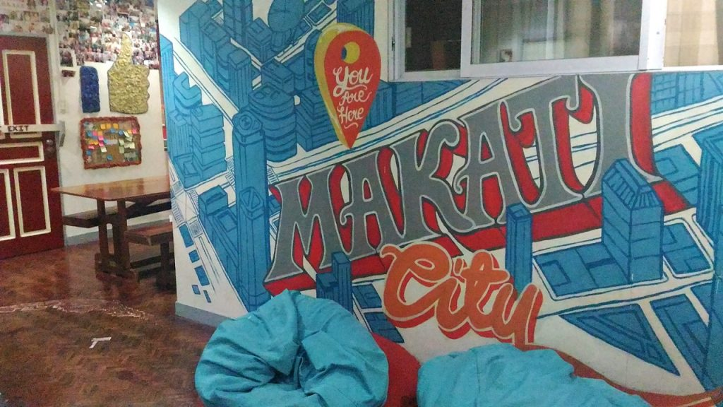 where to stay in manila -- Lokal Hostel Makati