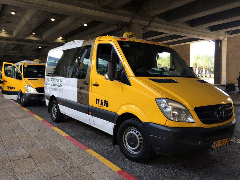 sherut shared taxi israel