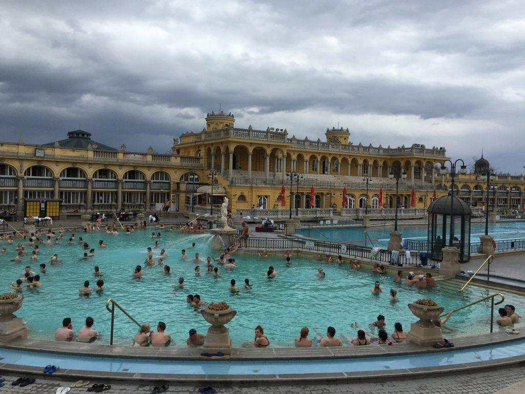 Budapest solo travel tips Szechenyi Spa