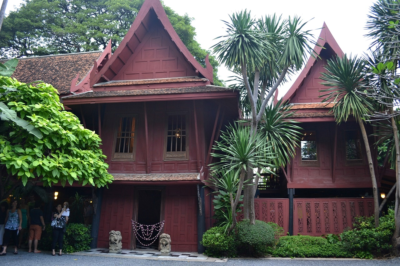 Visiting the jim thompson house in bangkok solitary wanderer for The thompson house