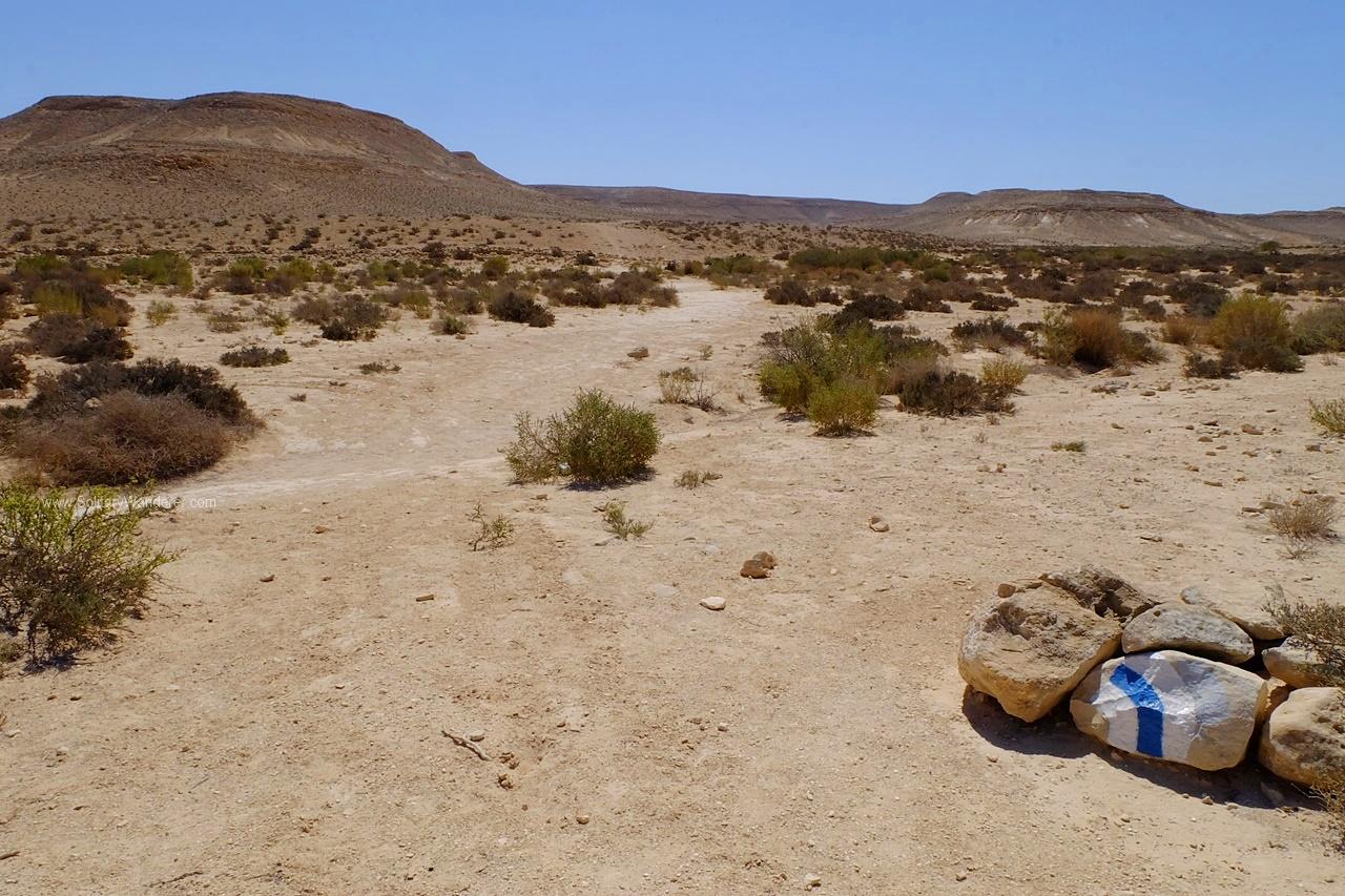 blue trail ein akev israel