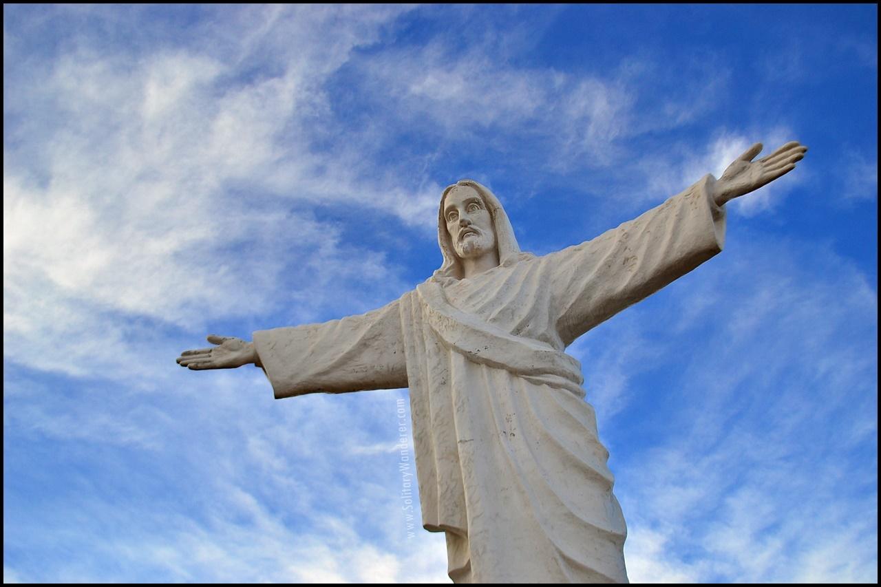 Cristo Blanco near Cusco