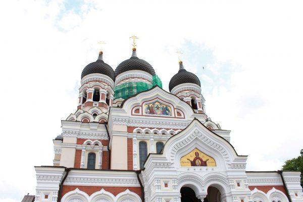 Alexander Nevsky Cathedral -- Traveling Solo in Tallinn, Estonia