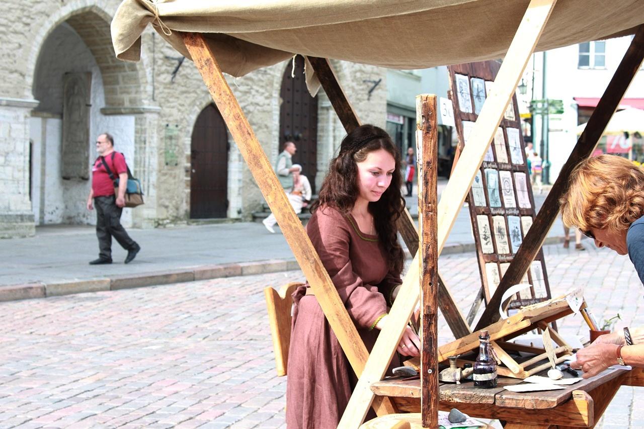 street market -- Traveling Solo in Tallinn, Estonia