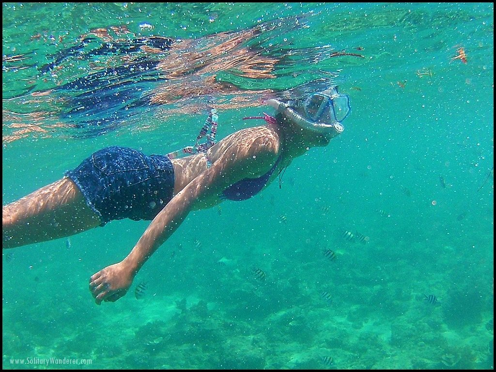 snorkeling gili islands indonesia