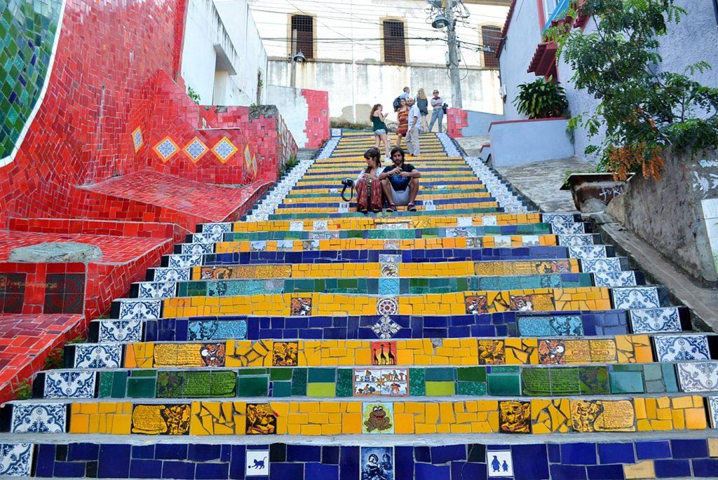 rio de janeiro escadaria de celaron