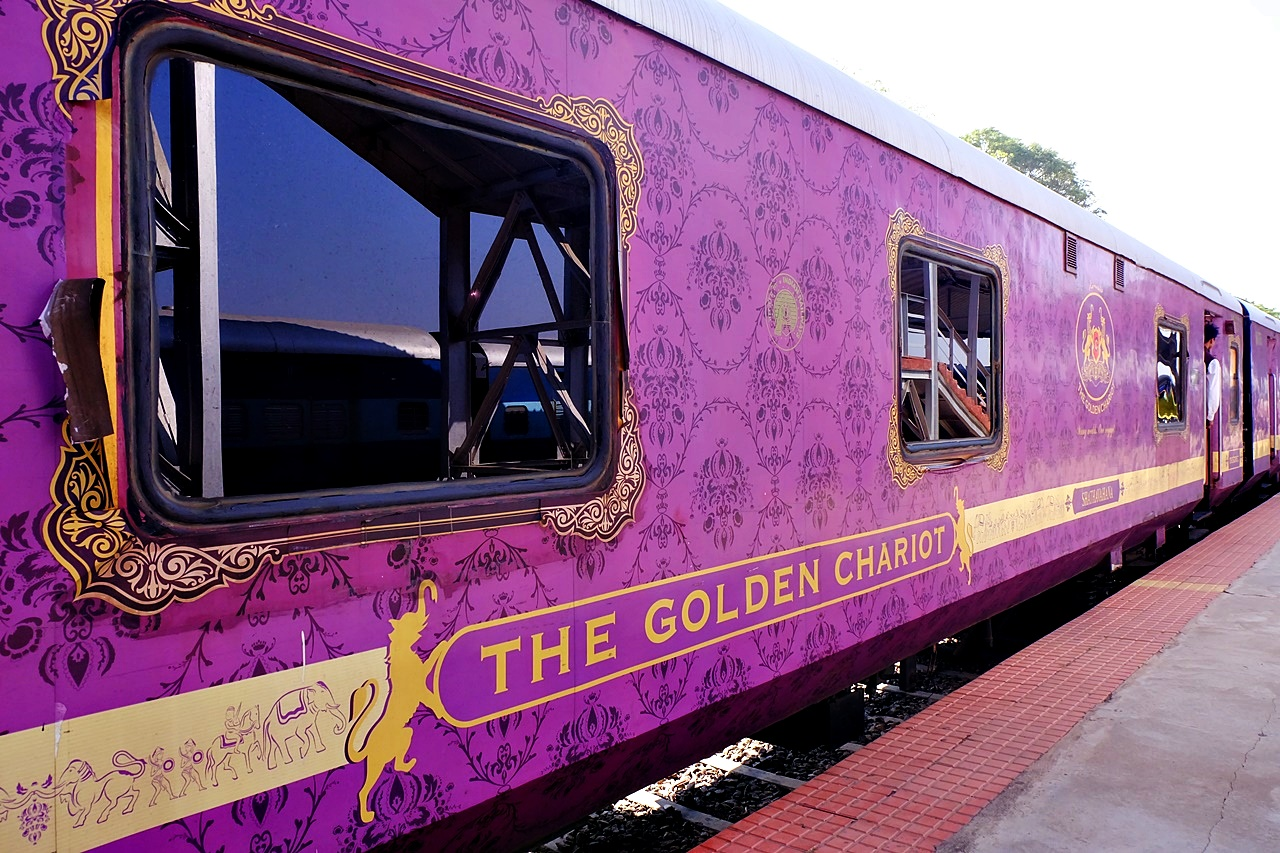 My Golden Chariot Review: What's it Like to Take a Luxury Train in India?