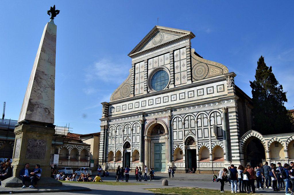 Basilica of Santa Maria Novella Florence Italy