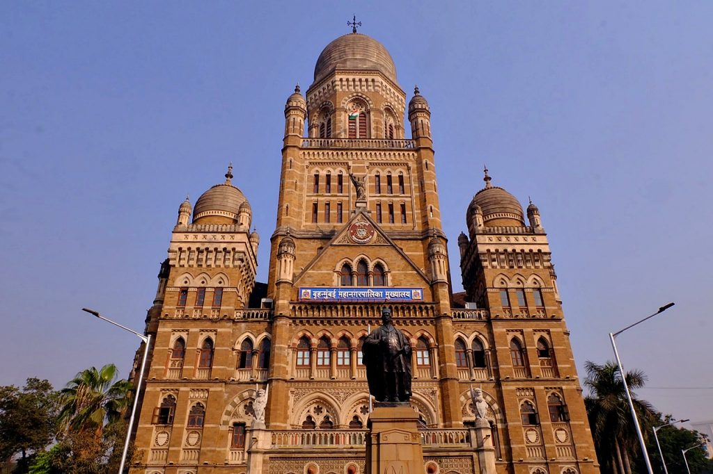 Municipal Corporation Building Mumbai India