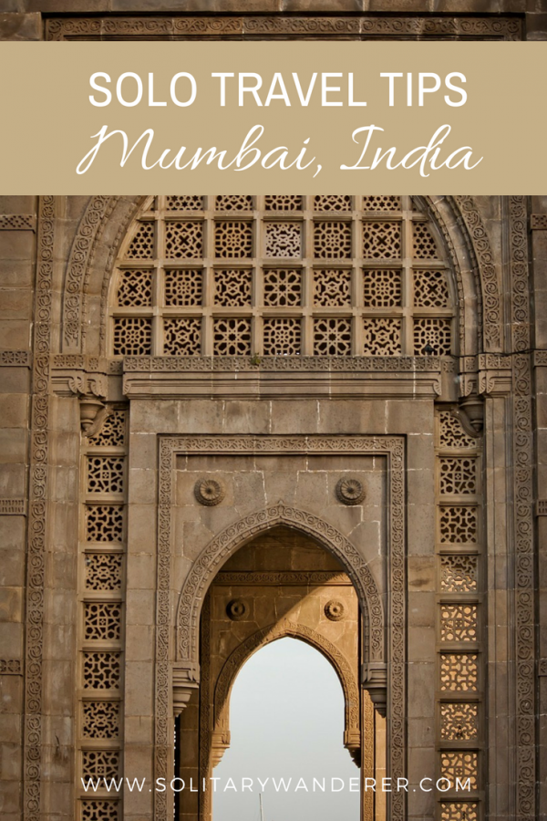 mumbai solo travel tips