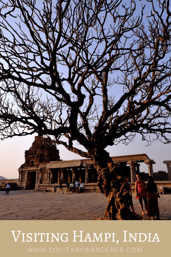 Visiting the Ruins of Hampi, India