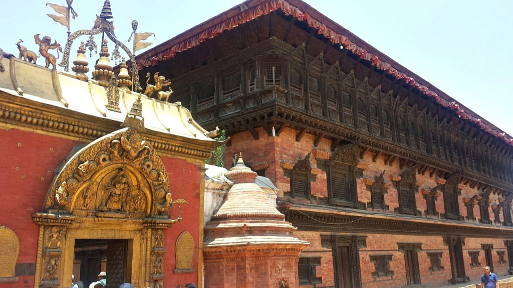 Bhaktapur Durbar Square Palace Of 55 Windows -- dave briggs