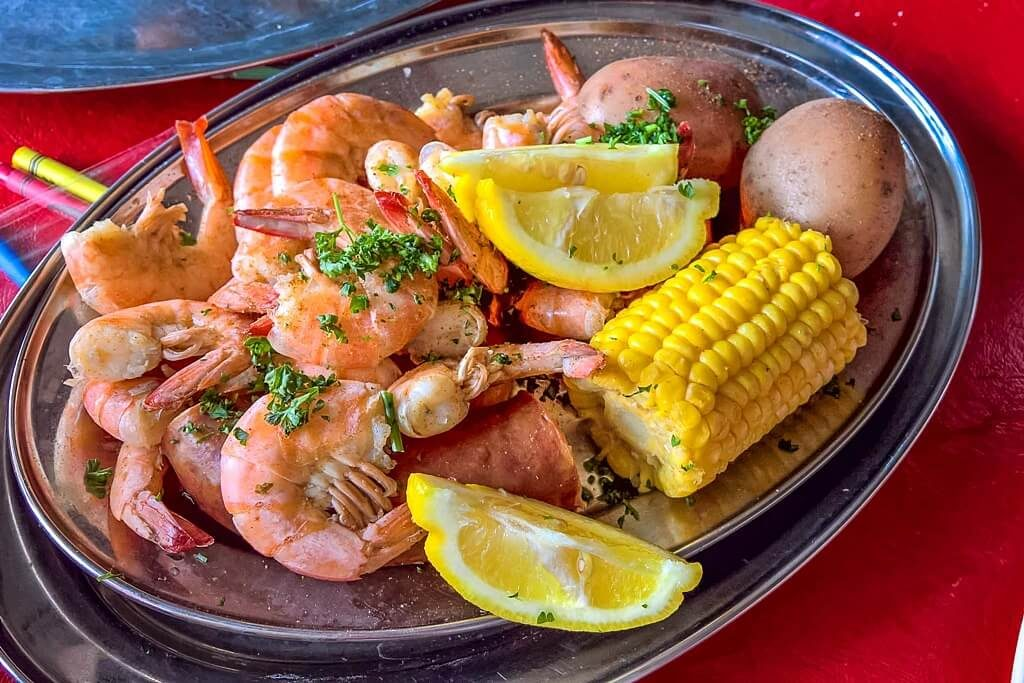 Cajun seafood boil -- best food in new orleans