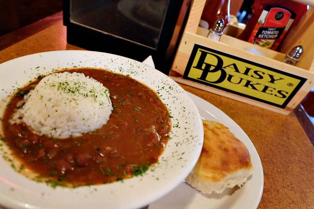 Daisy Dukes New Orleans - red beans and rice