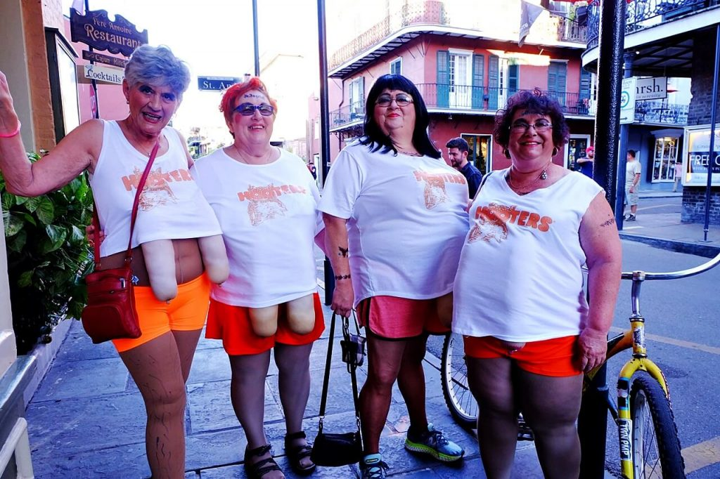 halloween in new orleans - group costume