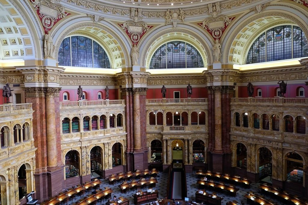 Solo Travel Tips Washington DC -- Library of Congress