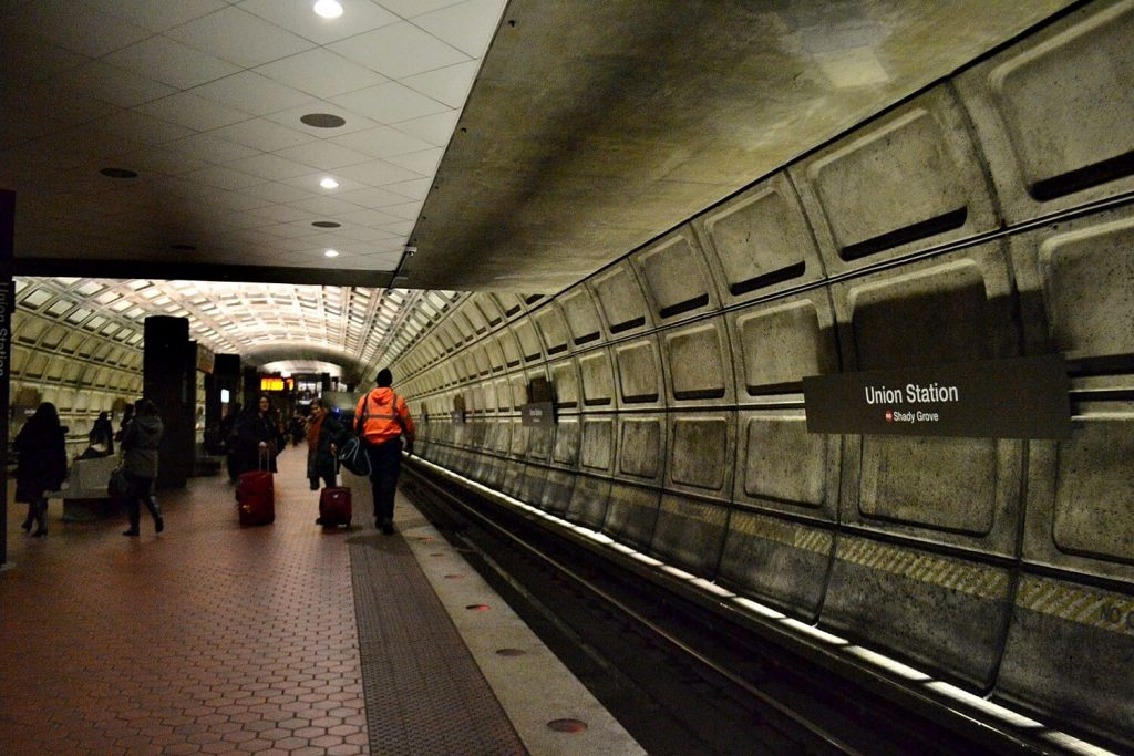 Solo Travel Tips Washington DC -- Metro Station