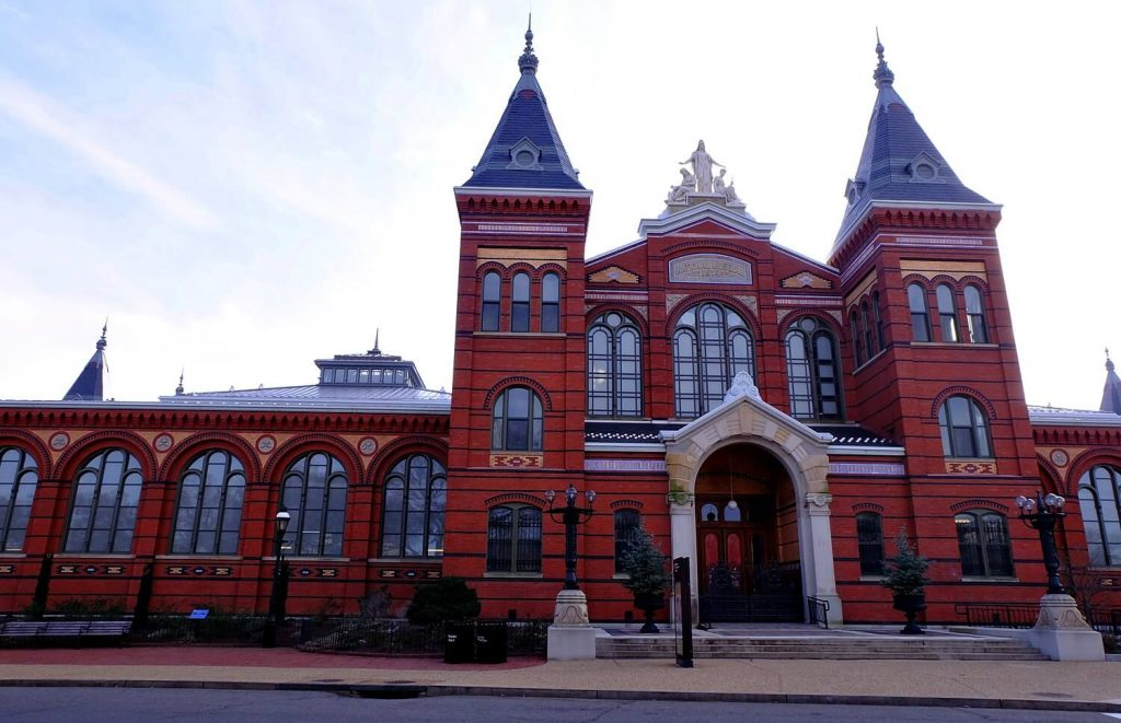 Solo Travel Tips Washington DC -- Smithsonian Arts and Industries Museum