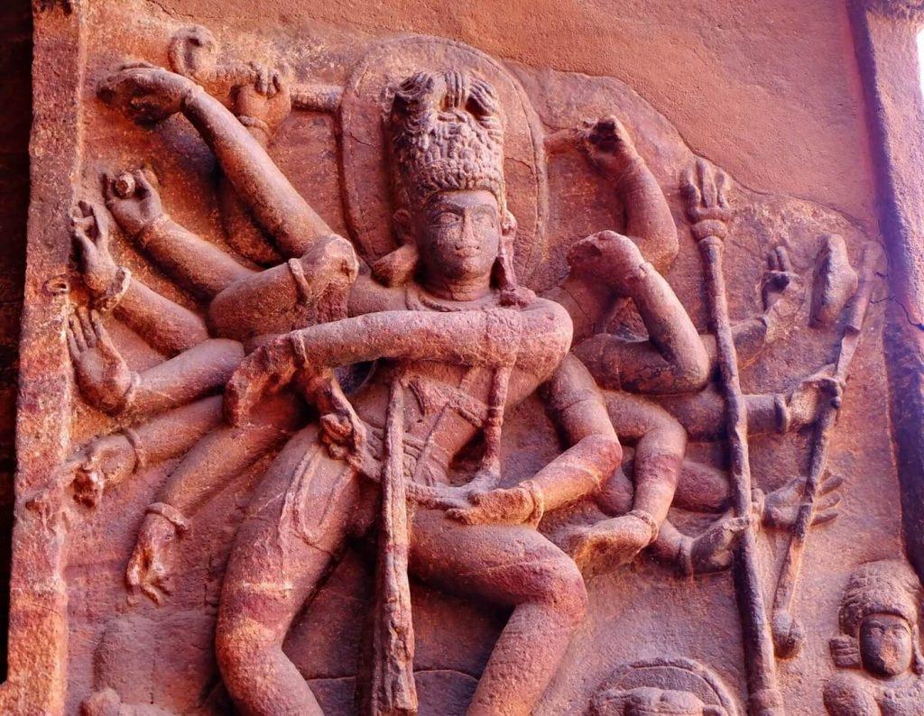 Badami Cave Temples -- cave 1
