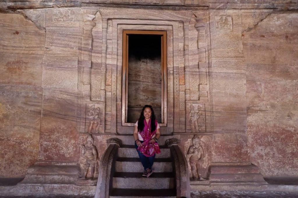 Inside Badami Cave Temple 3