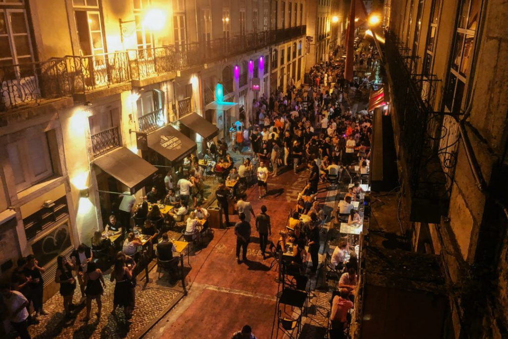 Nightlife in Lisbon