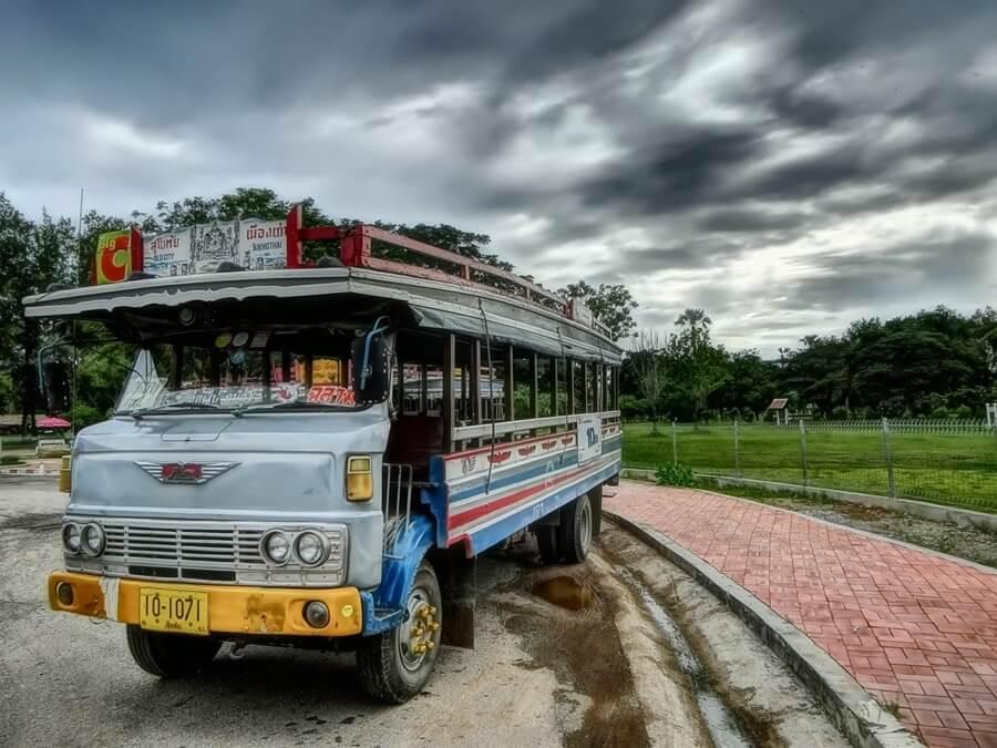 thailand long bus rides