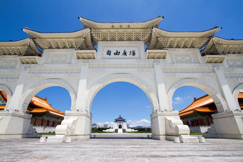 taiwan tourism spots -- CKS Memorial in Taipei